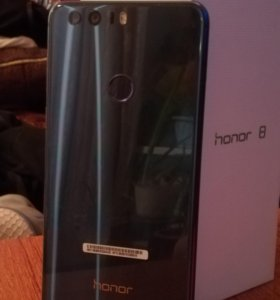 Huawei Honor 8 синий