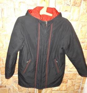 двусторонняя зимняя куртка женская