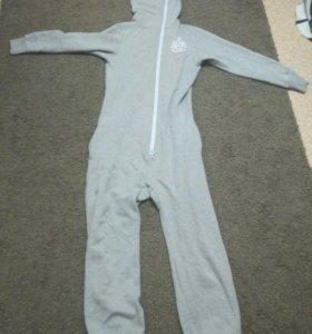Пижама теплая  размер s-46