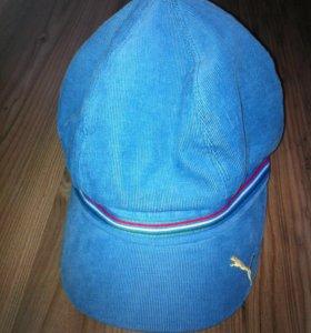 Новая синяя кепка puma (original)