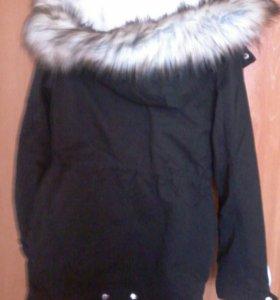 Куртка с меховой подстежкой