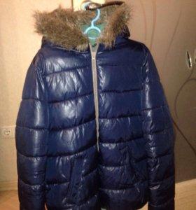 Куртка зимняя мужская sisley