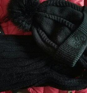 Куртка шарф и шапка
