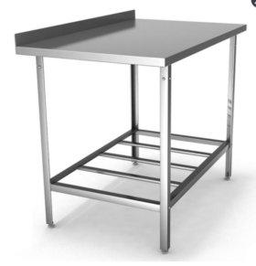 Стол производственный пристенный СПП 15/6 оцинк.