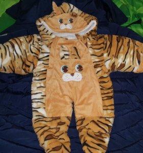 Комбинезончик тигр