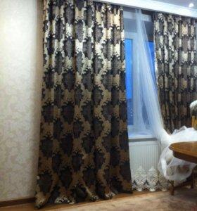 Тюль и портьерная штора