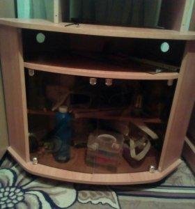 Угловая тумба под телевизор