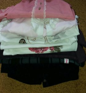 пакет одежды для девочки+/- 128