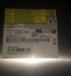 DVD\CD привод для ноутбука AD-5590A SONY OPTIARC
