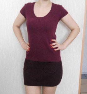 Платье- туника тёплое