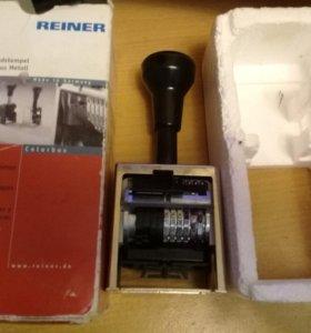 Нумератор автоматический 6-разрядный Reiner b6