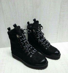 Зима ботиночки на шнурках