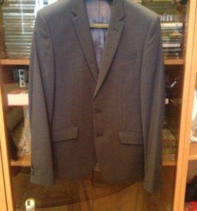 Костюм выпускной, пиджак, брюки, школьный