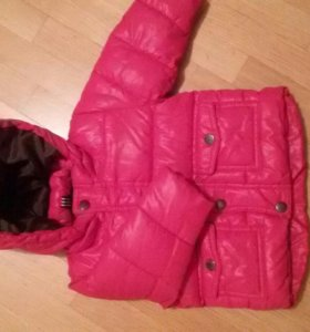 Куртка теплая 3-6 мес