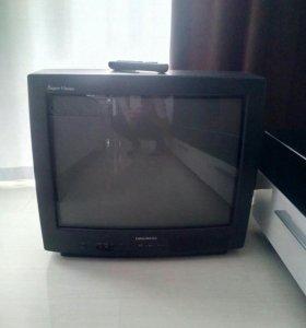 Телевизор daewoo с пультом