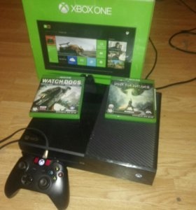 Xbox one + 70 игр