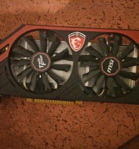 Видеокарта MSI GeForce GTX 750 Ti 2048Mb