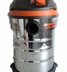 PIT. Пылесос строительный PVC 30-C (1,5 кВт, 30л.)