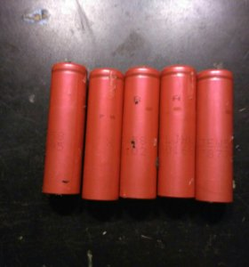 Аккумуляторы 18650 5 шт