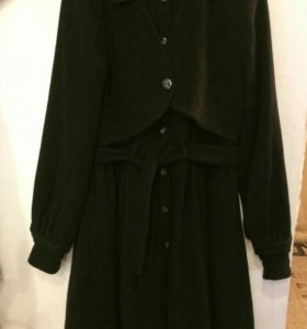 Пальто женское теплое 44-48 р.