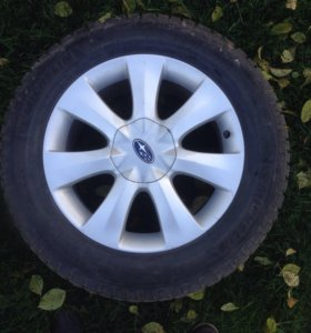 Зимняя резина на ориг. дисках Subaru Tribeca