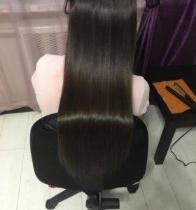 Кератин. Ботокс. Наращивание волос
