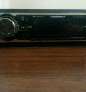 Магнитофон SoundMax SM-CRR3035