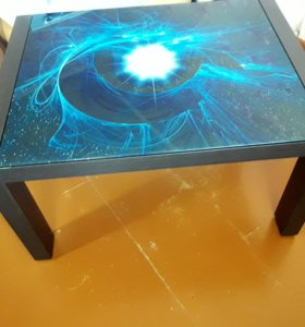 Журнальный стол с фотопечатью