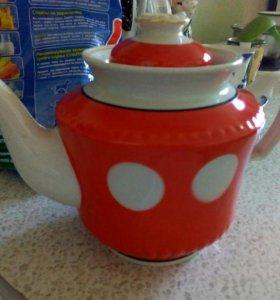 Чайник советский большой
