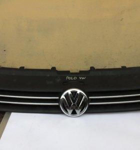 Решетка радиатора фольксваген поло седан