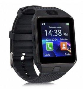 Часы умные Smart Watch (SIM,microSD)