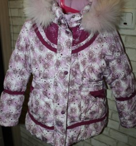 Зимняя куртка kiko р-р 110