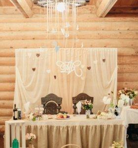 Набор для свадебного оформления в стиле рустик