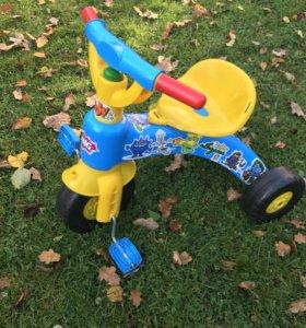 Трехколёсный велосипед детский