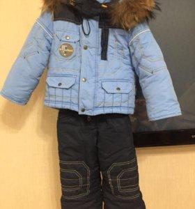 Зимний комбинезон на мальчика