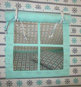 Шью на заказ детский текстиль.