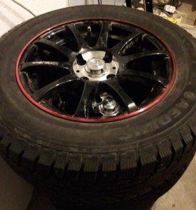 зимние шипованые колеса размер 205/65R15