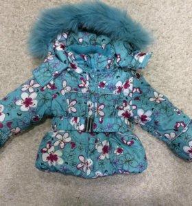 Куртка и комбинезон зимние 86+