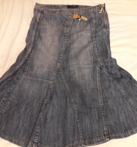 Юбка джинсовая  Gizia