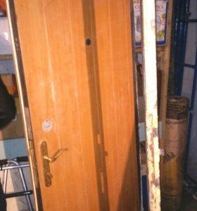 Стальная дверь б/у