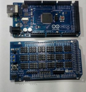 Sensor shield MEGA arduino