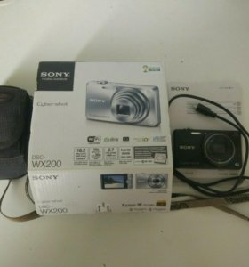 Фотоаппарат Sony cyber-shot DSC-WX200