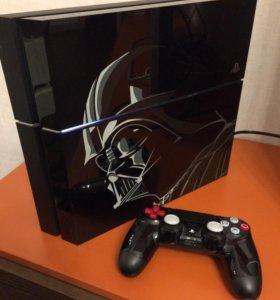 PS4 PlayStation 4 Star Wars edition 1TB + 3 игры