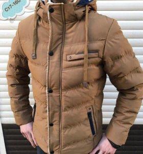 Мужская зимняя куртка новая