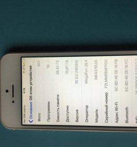 Телефон iPhone 5s 32g