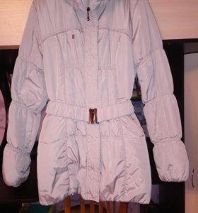 Зимнее пальто-куртка.