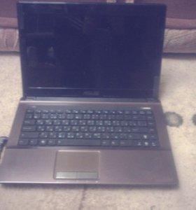 Быстрый ноутбук K43S, I5, 6 Gb, ssd 256, торг