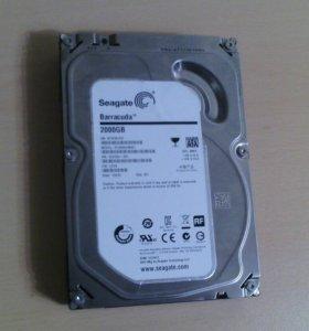 Жесткий диск HDD Seagate 2 Тб ST2000DM001