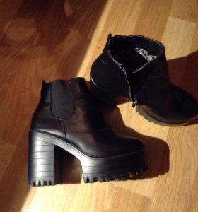 Ботинки, Ботильоны 36 размер