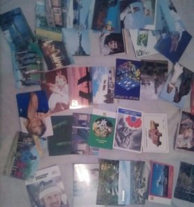 Календарики и открытки  СССР